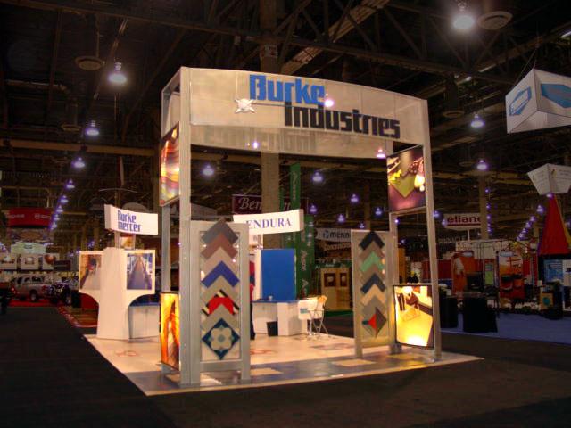 Burke Industries 20x20 exhibit