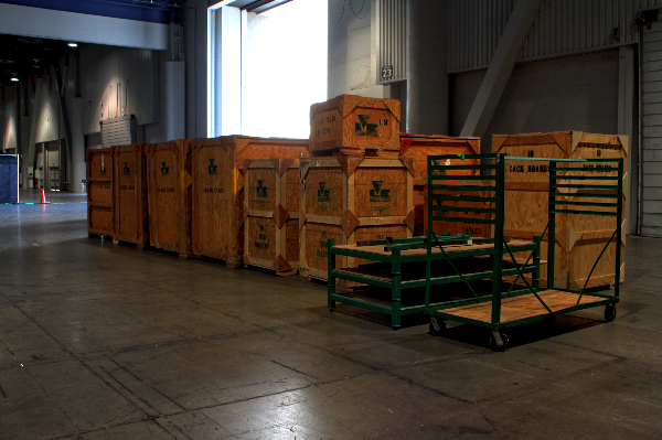 Las Vegas Expo Crates