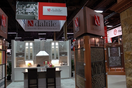 Daltile Surfaces 2016 Island Exhibit