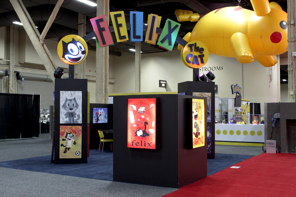 Felix The Cat 20x20 Exhibit