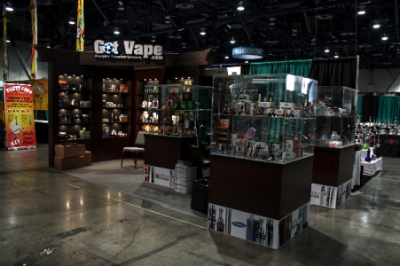 Got Vape 10x20 at Champs Show, Las Vegas Nevada