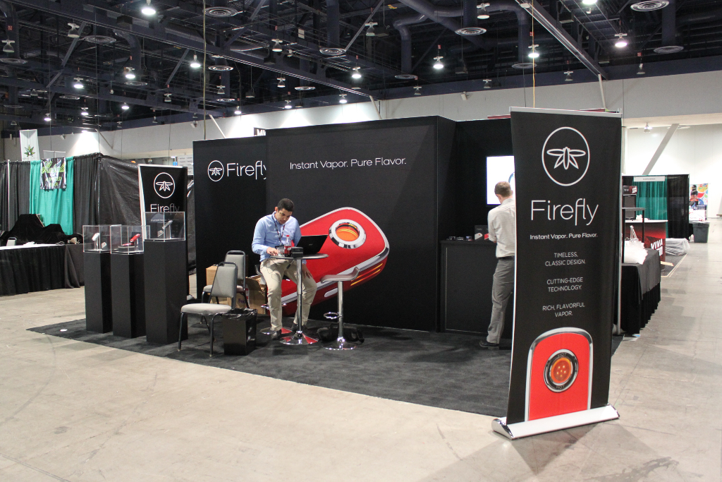 Fire Fly 10x20 at Champs Show, Las Vegas Nevada