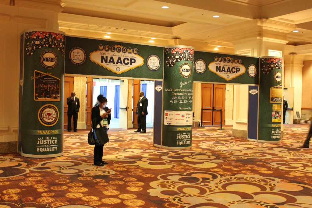 NAACP Show 2014 Entry Mandalay Bay Convention Center, Las Vegas Nevada
