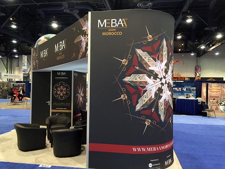NBAA 2015, MEBAA 20x20 Island Exhibit