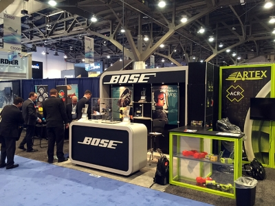 NBAA 2015, Bose 10x10 Inline Exhibit
