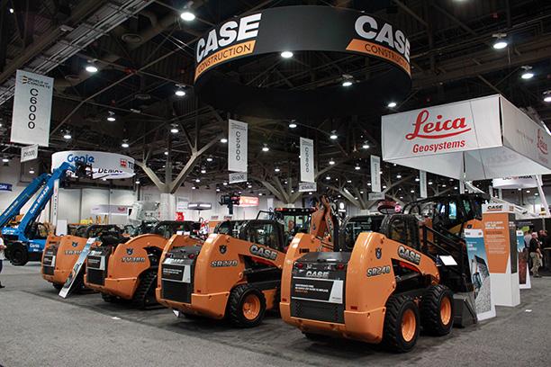 Case Construction 50x50 Island Exhibit