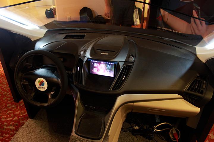 Wipro Car Simulator, CES2016