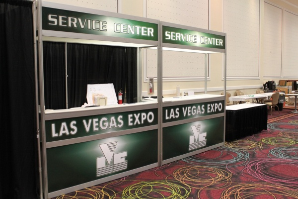 Kid Show service desk at Bally's Convention Center