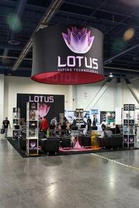 Lotus 20x20 Island Exhibit