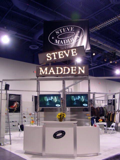 Steve Madden Exhibit at the MAGIC show