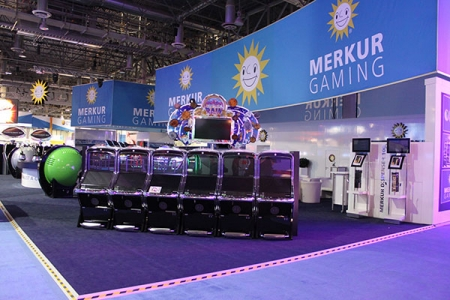 Merkur Gaming G2E Sands Convention Center Las Vegas 2014