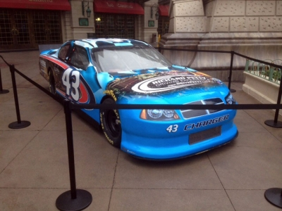 NASCAR Kiosk Car Display