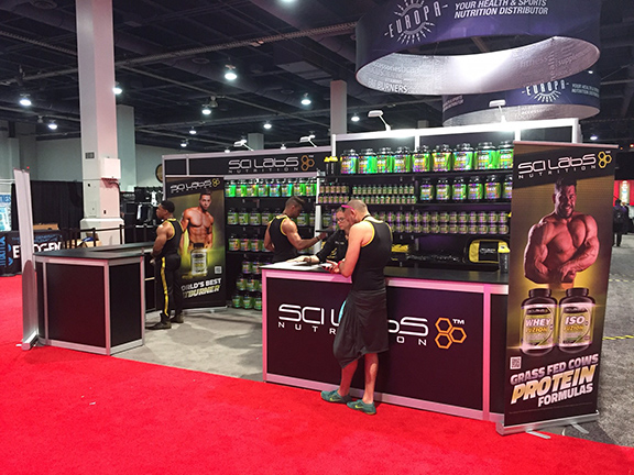 Sci Labs Nutrition - Olympia 2016