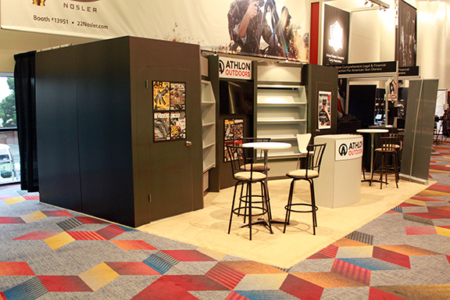 Athlon Shot Show 20x20 Exhibit 2016