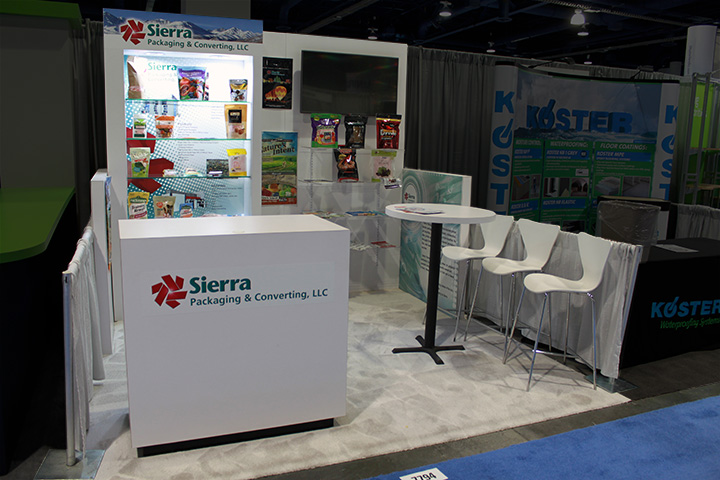 Sierra Packing and Converting, Pack Expo 2015