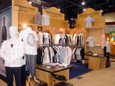 U. Garment 10x20 Inline Exhibit