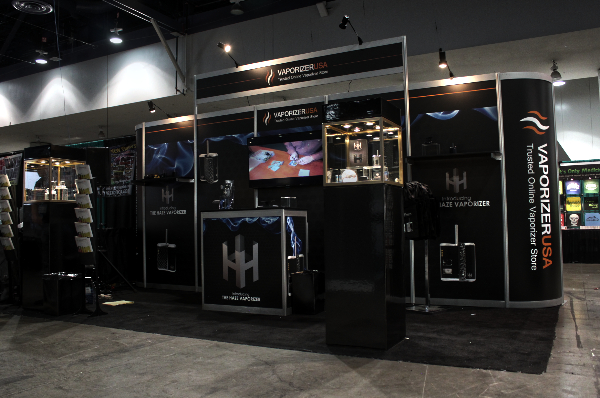 Vaporizer 10x20 at Champs Show, Las Vegas Nevada