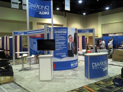 Diamond Solutions 20x20 Exhibit