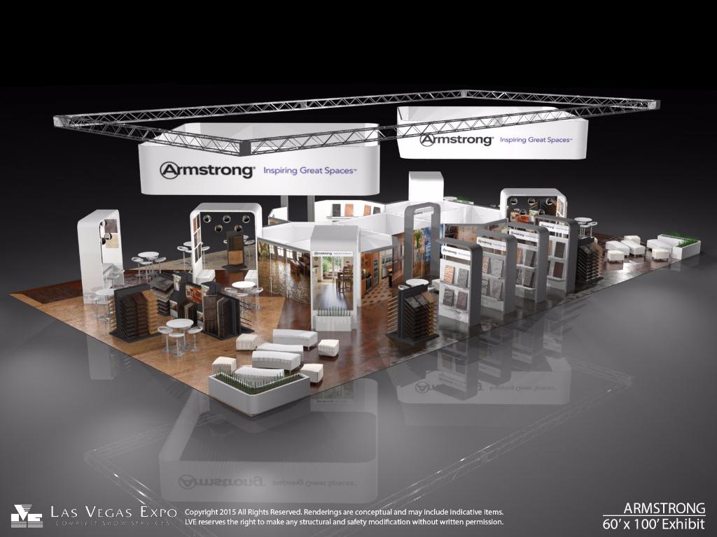 Armstrong 60x100 Exhibit