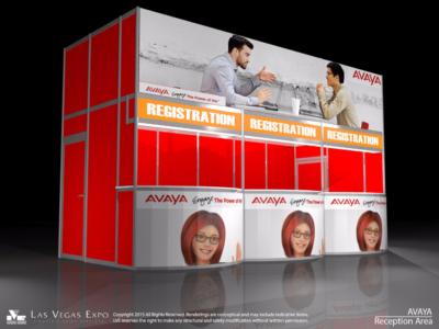 Standard Registration Back-lit Counter