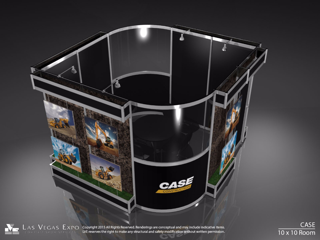 Case Construction Display Room