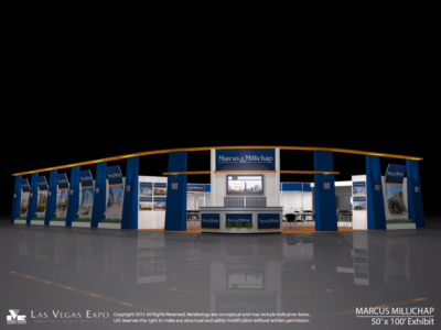 Marcus & Millicap 50x100 Exhibit Design