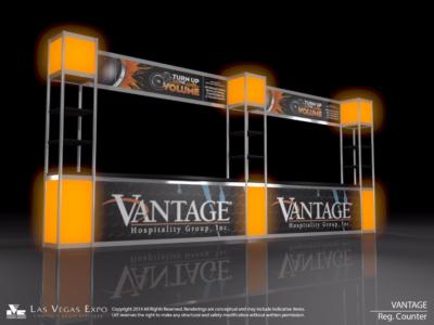 Vantage Registration Stand