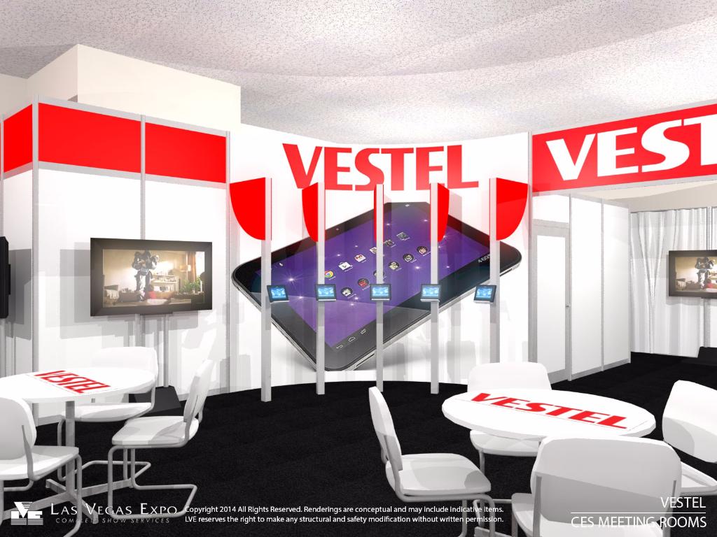 Vestel Ballroom Design