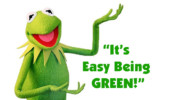 Eco-Friendly Expositions – Is Kermit the Frog wrong?