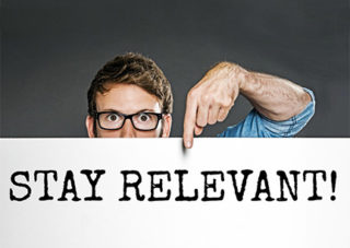Staying relevant with clients